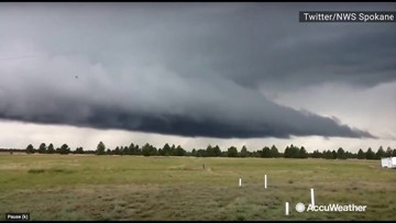 Watch as this storm passes right over your head