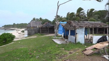 Vanuatu battered after getting hit by a cyclone