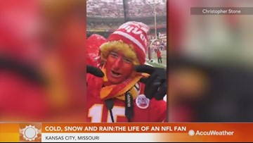 Cold, snow and rain: Inside the life of a Kansas City Chiefs superfan