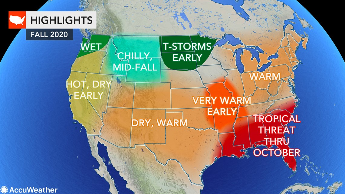 Knoxville Weather Forecast Halloween 2020 Fall forecast: Where will autumn weather arrive first in the US