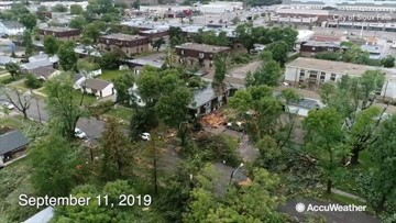Before-and-after video shows impressive cleanup efforts following tornado