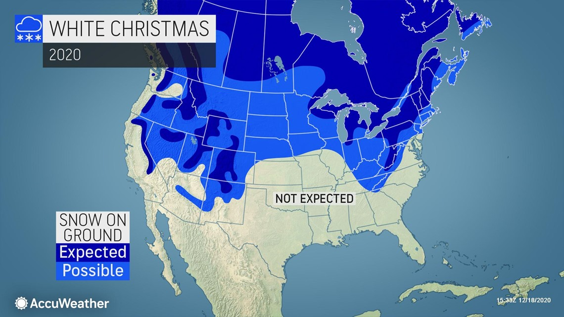 Weather For Christmas 2021 In Maine White Christmas Watch 2020 Which American Cities Will Have Snow On Dec 25 Wbir Com