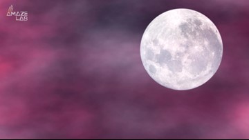 A Full 'Pink Moon' Will Light Up the Sky This Week
