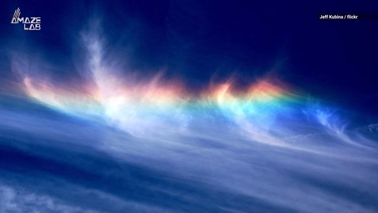 Super Rare 'Fire Rainbows' Are a Magical Summer Phenomenon