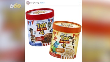 New 'Toy Story 4' Ice Cream Flavors Will Take You To 'Infinity And Beyond!'