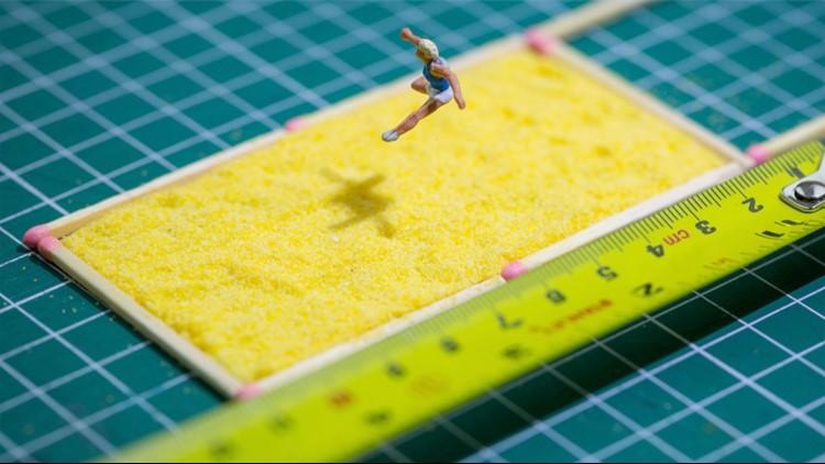 Must See! Artist Creates 'The Mini Olympics' Using Everyday Items!