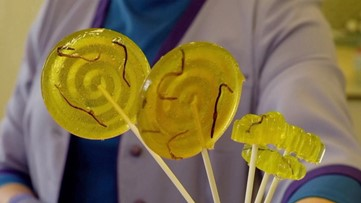 Would You Eat Lollipops Made of Earthworms?