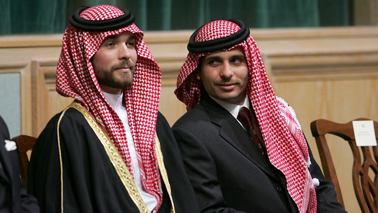 US sides with Jordan's king, tough message on royal family dissent delivered