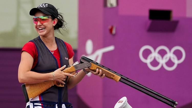 Browning's silver in trap gives US another shooting medal