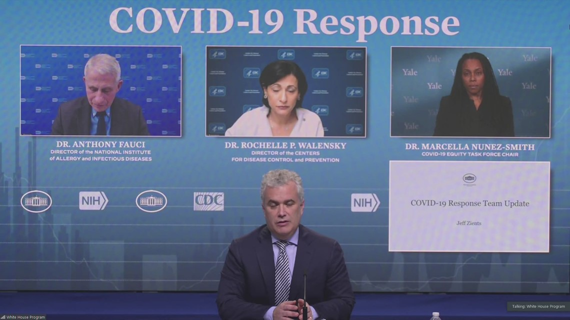 White House COVID-19 Response Team urges public to keep adhering to virus mitigation behaviors
