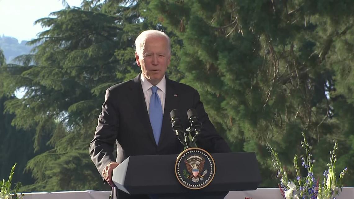 Biden remarks after summit with Putin in Geneva