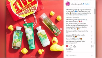 Bath & Body Works re-releases 8 scents during sale