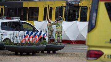 Dutch police hunt suspect after shooting on tram kills 1