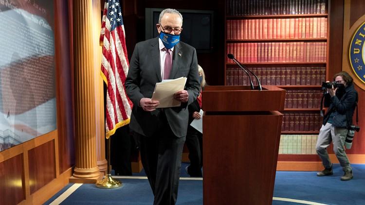 Senate debate on COVID bill, $1,400 checks may start Thursday