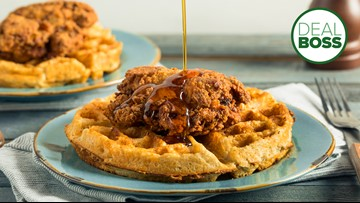 Papa John's is going to put chicken and waffles on a pizza
