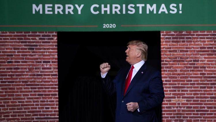 Trump Merry Christmas Rally 2019 December