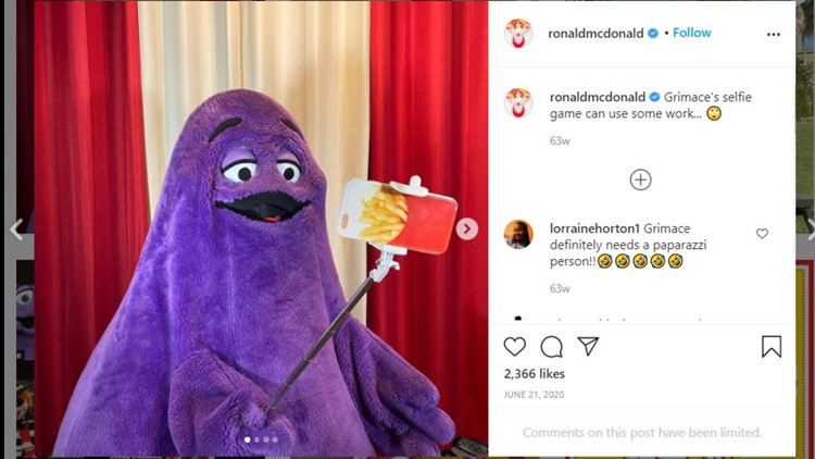 What is the McDonald's character Grimace? A manager explains