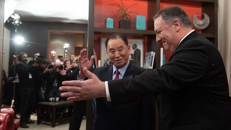 Kim Yong Chol mike pompeo north korea