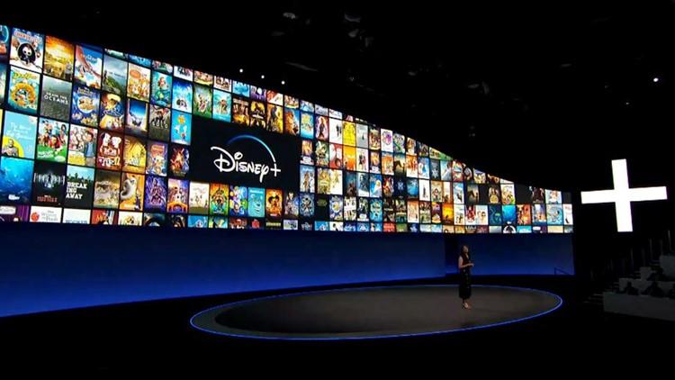 Disney presentation gives overview of Disney+ service