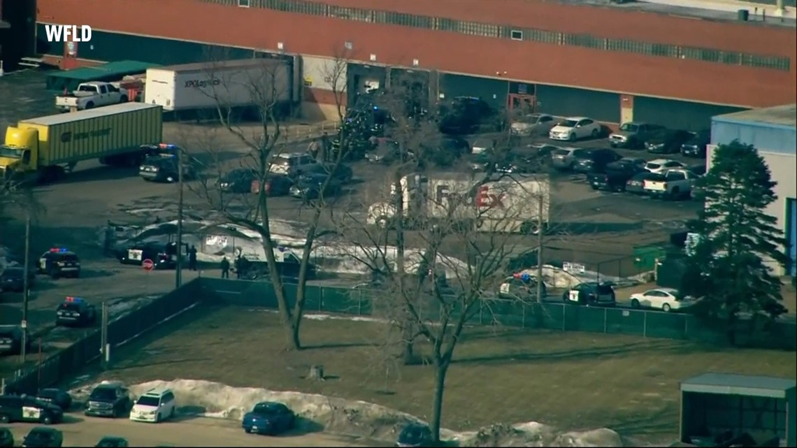 Suspected shooter 'apprehended' after incident at Aurora, Illinois manufacturing business