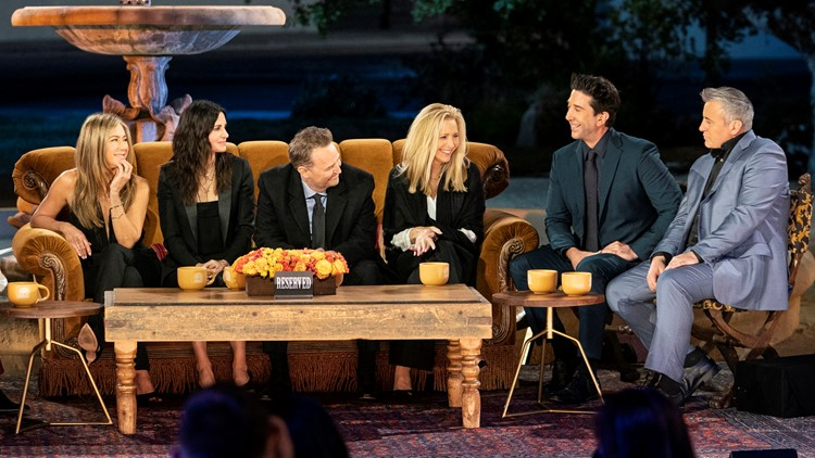 Review: Tear-filled 'Friends' reunion doesn't offer much more than other TV reunions