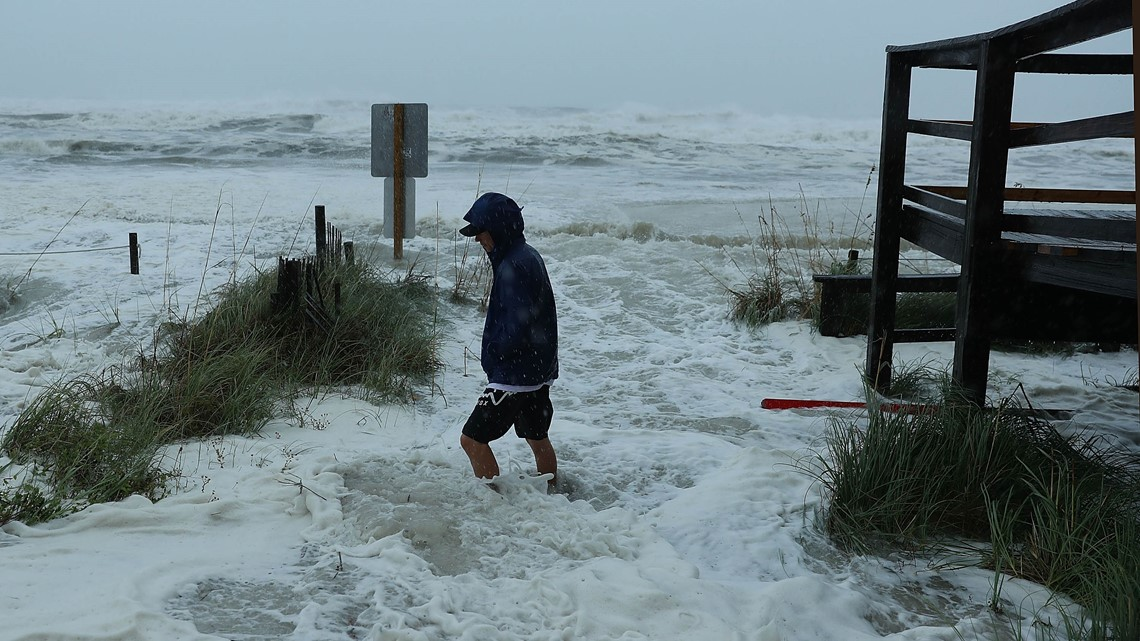 S Hurricane Michael drenches Florida Panhandle