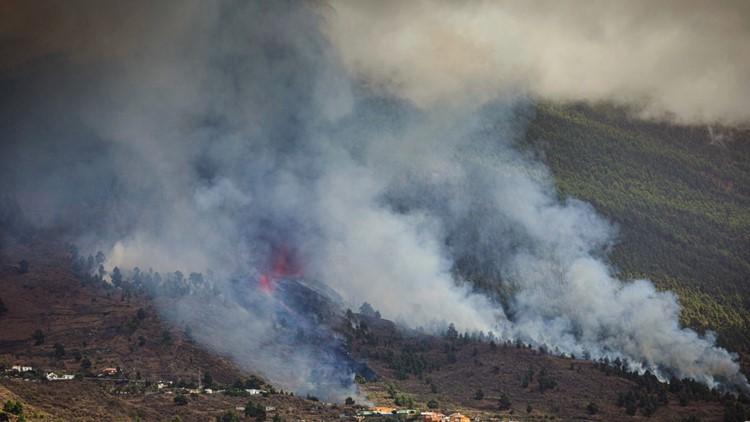 Volcano erupts on Spain's La Palma Island, lava threatens homes