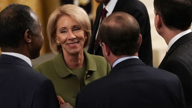 Betsy DeVos proposes overhaul to college campus sexual misconduct rules