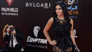 Egyptian actress Rania Youssef could face up to 5 years in prison for revealing dress