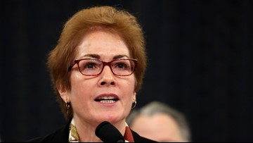Trump attacks Marie Yovanovitch as she testifies in impeachment inquiry