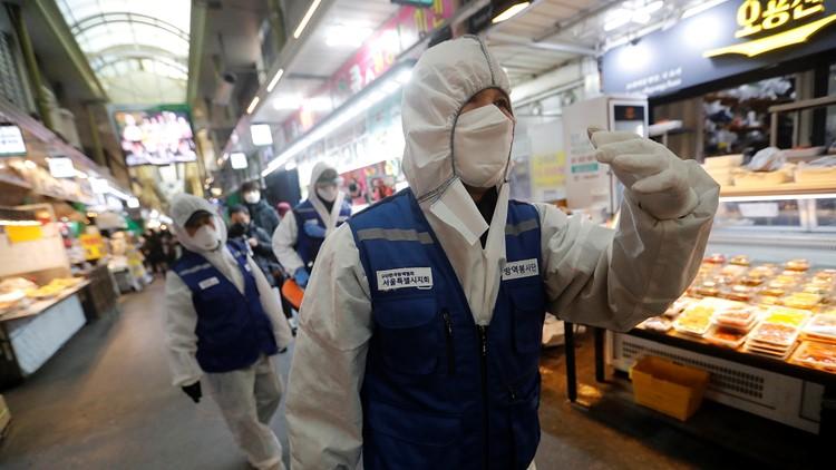 South Korean virus cases jump again; China counts 150 more virus deaths
