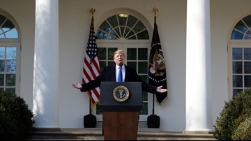 VERIFY: Fact-checking Trump's national emergency speech