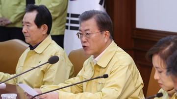 South Korea on high alert as leader calls for 'unprecedented' steps amid virus