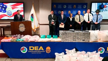 New federal law enforcement operation focuses on meth trafficking hubs