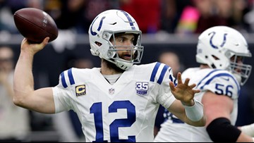 Emotional Colts QB Andrew Luck confirms retirement from NFL