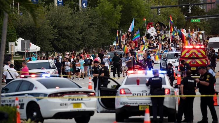 Officials say Florida deadly Pride parade crash was not intentional