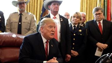 Trump vetoes Congress' measure blocking his border emergency