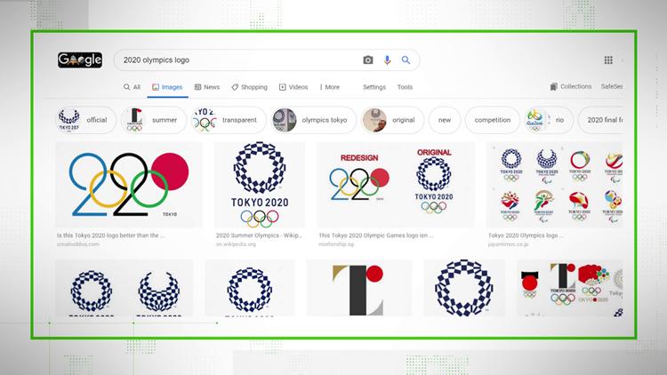 VERIFY: Stop sharing the wrong 2020 Olympics logo
