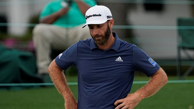 Defending Masters champion Dustin Johnson misses cut at Augusta