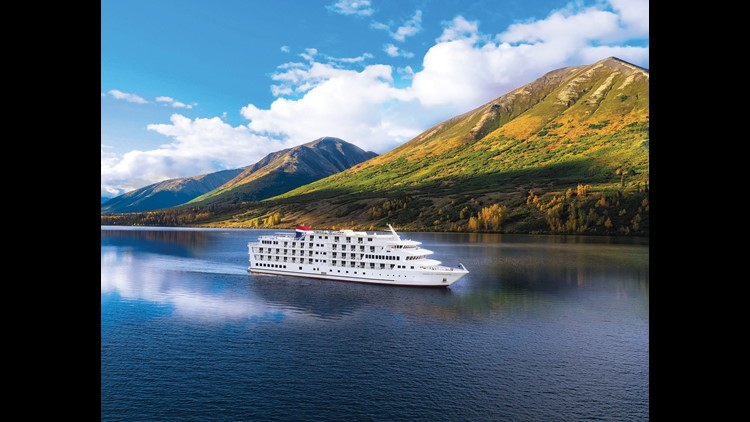 Unveiled in 2017, the 175-passenger American Constellation is one of the latest vessels from American Cruise Lines, an upscale, U.S.-based cruise company that specializes in voyages in U.S. waters.