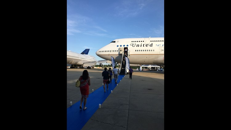 United's last-ever Boeing 747 to be used for revenue passenger service is seen at the Universal Asset Management (UAM) Aircraft Disassembly Center in Tupelo, Miss., on June 2, 2018.