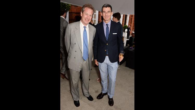Lord Ivar Mountbatten at Kensington Palace on June 19, 2014 in London.