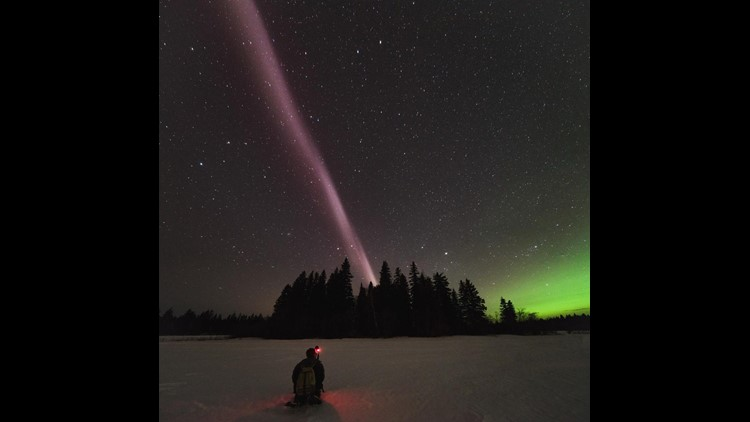 This bright purple ribbon-named STEVE-is an entirely new celestial phenomenon