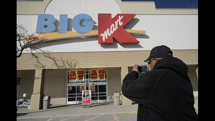 Forty-five Kmart stores and 18 Sears stores will be closing in late January 2018, the company said Thursday. Hal Degraff, of Livonia, Mich., stopped by to take a photograph of the Livonia Kmart. He has shopped there for at least a dozen years and said tha