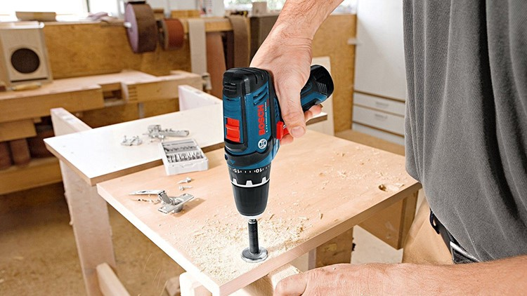 Drill through every summer project.