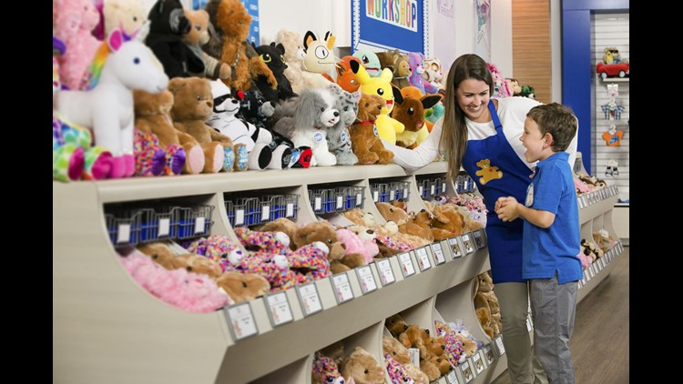 Build-a-Bear Workshop's one-day sale was so successful that some people were turned away.