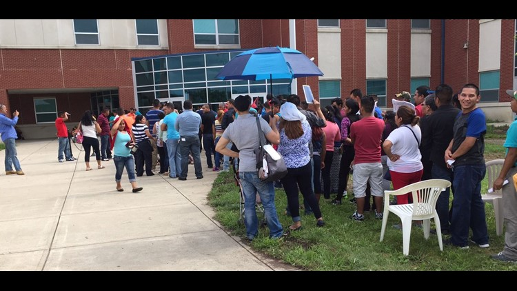 About 250 people were turned away from applying for a MARCC ID card Saturday morning at Woodward High School. Demand for the card surprised organizers.
