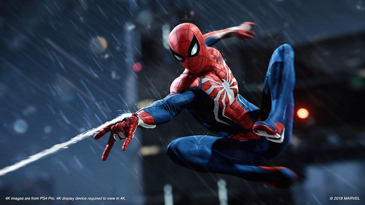 The latest superhero video game looks to be a stellar one: Marvel's Spider-Man from Insomniac Games plays as good as it looks.