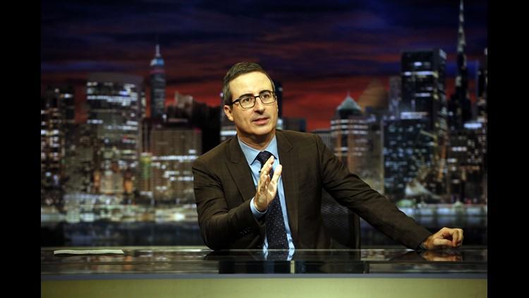 'Last Week Tonight' host John Oliver