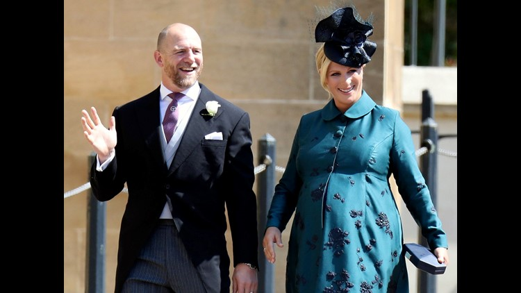 Zara Tindall, the daughter of Princess Anne, gave birth to her second child with husband, rugby player Mike Tindall, Tuesday.